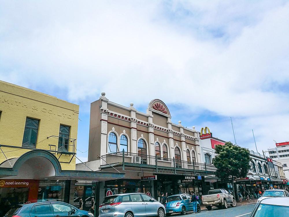 Dunedin streets