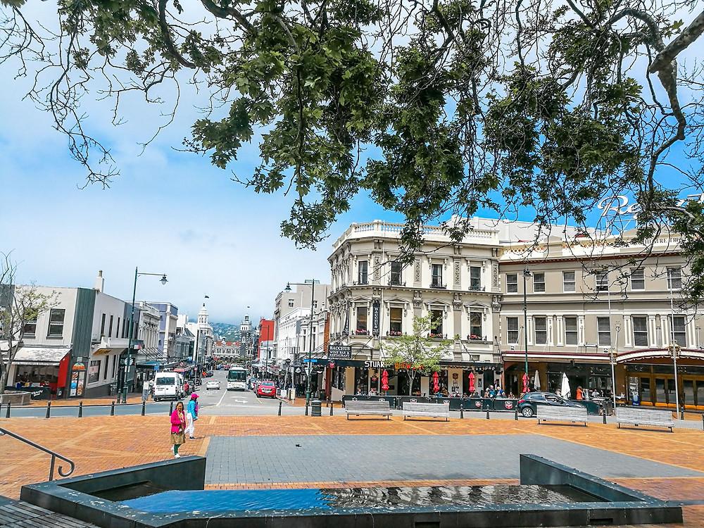Octagon Dunedin city