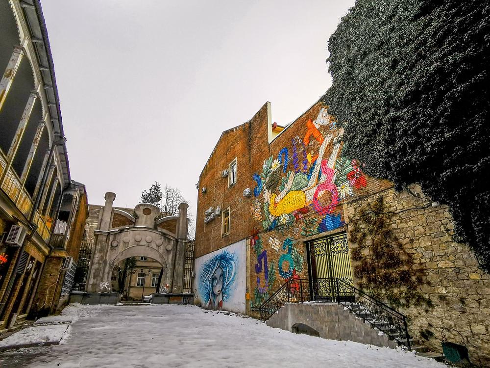 Kutaisi wall art