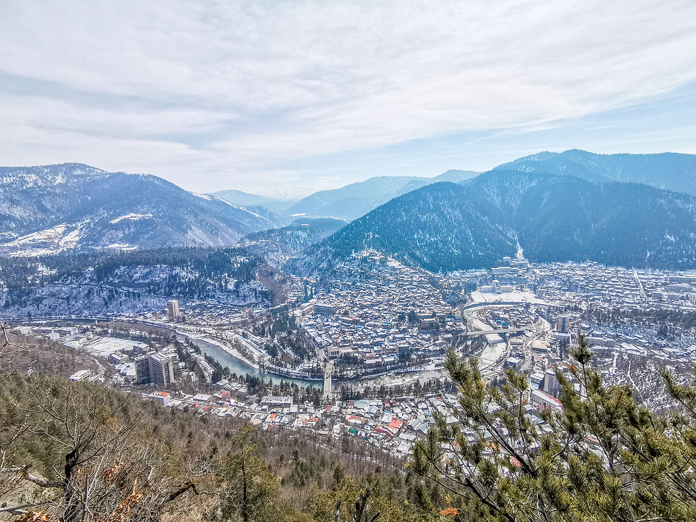 Cross Hill, Borjomi, Georgia