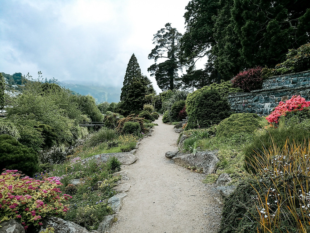 Botanic Garden Upper garden Dunedin