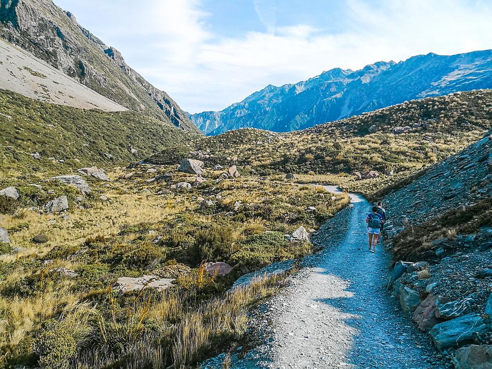 Hooker Valley walk