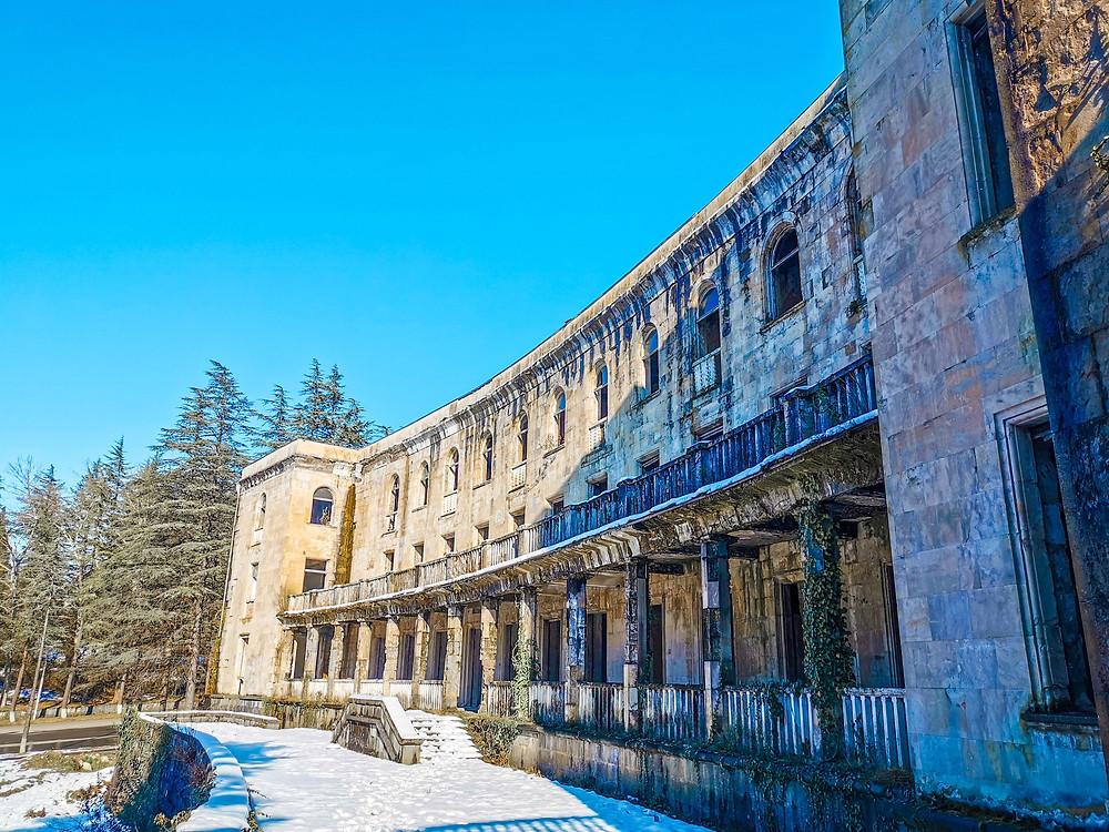 Tskaltubo abandoned buildings