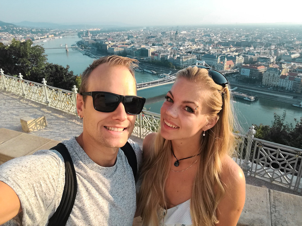 couple in Budapest