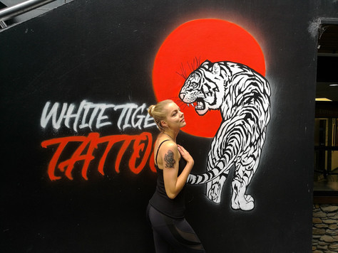 White Tiger Tattoo. Queenstown. | Getting a tattoo in New Zealand.