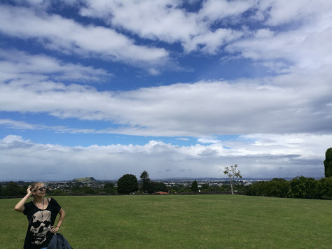 Hilly Auckland.