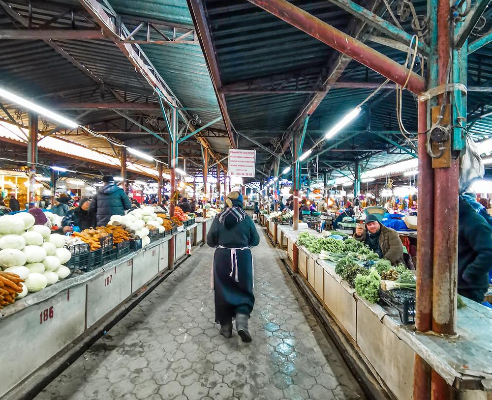 Green market Kutaisi