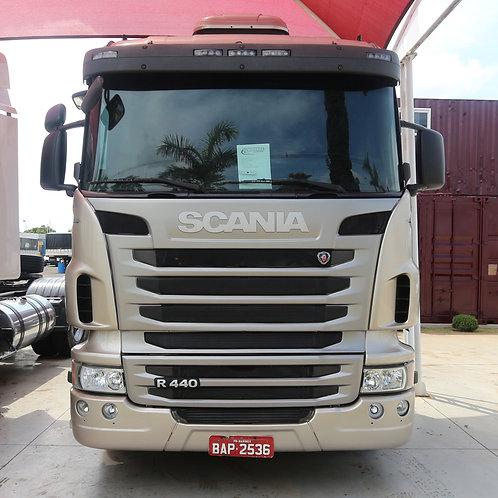 Scania R 440 - 2013/13 - 8x2 (BAP 2536)