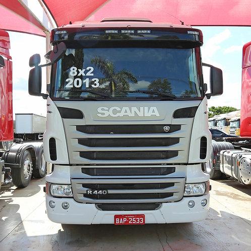 Scania R 440 - 2013/13 - 8x2 (BAP 2533)
