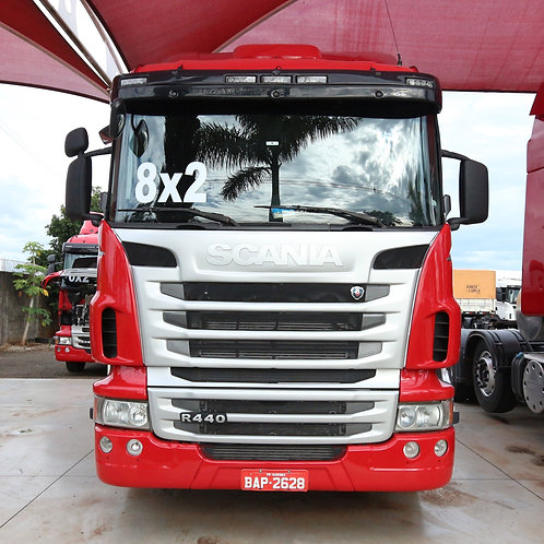 Scania R 440 - 2013/13 - 8x2 (BAP 2628)