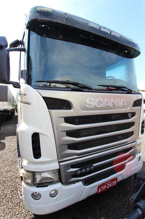 Scania G420 - 2010/11 - 6x2 (ATP 2439)