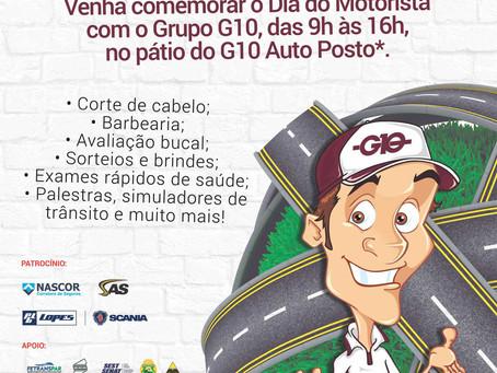 G10 comemora Dia do Motorista com 4ª edição de evento