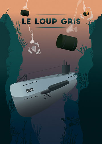 Le Loup Gris U Boot