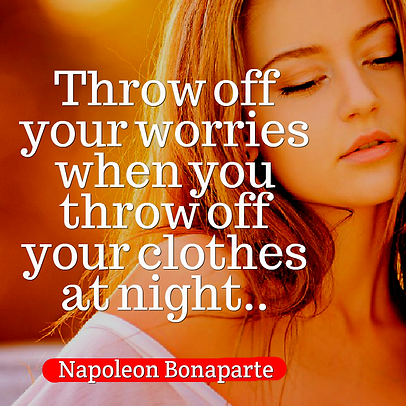 Throw off your worries when you throw of