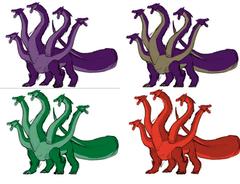Dragon Colors Concepts