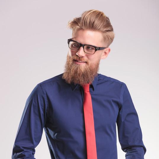 coloration de barbe