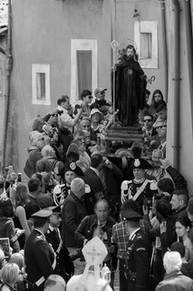 San Domenico is the patron saint of Cocullo and protecter against tooth eache and bites.