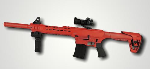 AR-12 Semi-Auto shotgun (Red)