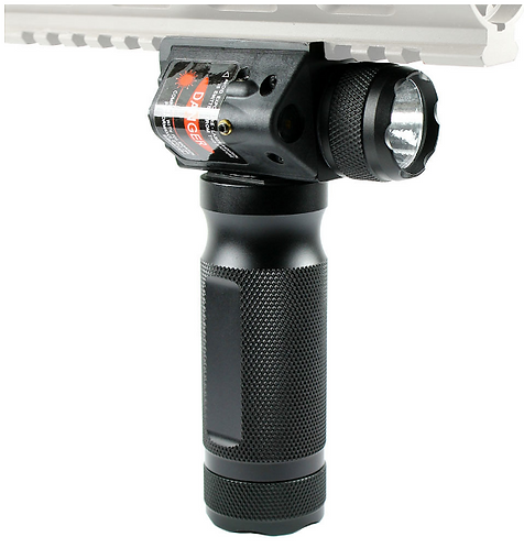 VERTICAL GRIP W/LIGHT & LASER COMBO