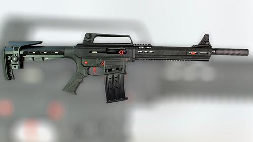Semi-Auto shotgun (Black & Red)