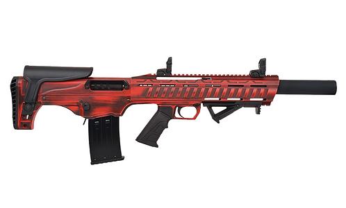 12 Gauge Bull-pup Semi-Auto shotgun (RED)