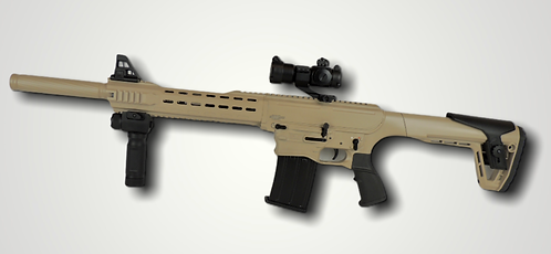 AR-12 Semi-Auto shotgun (Tan)