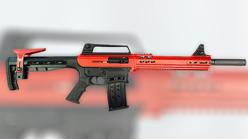 AR-12 Gauge Semi-Auto shotgun (Red & Black)