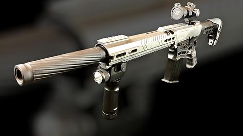 Semi-Auto shotgun (Black & Gray)