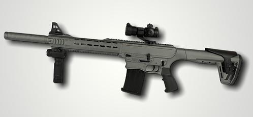 AR-12 Semi-Auto shotgun (Gray)