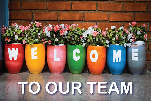 Welcome Card - Plantpots Qty - 20