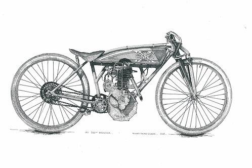 1911 500cc Excelsior
