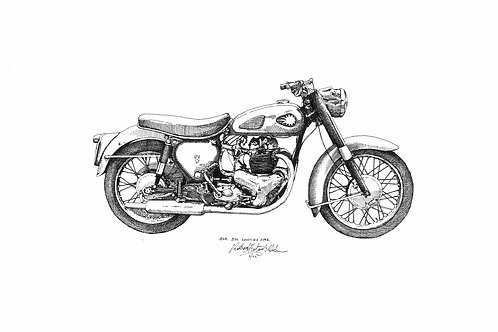BSA 500 Shooting Star