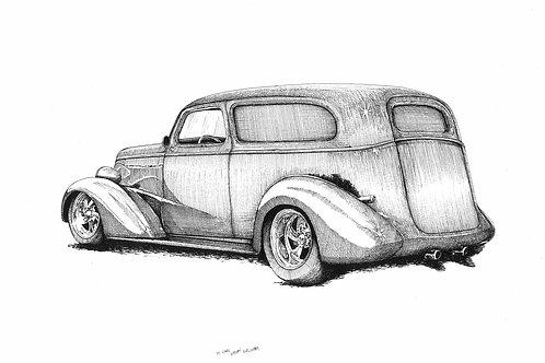 1937 Chevy Sedan Delivery