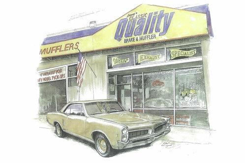 Larry's Muffler