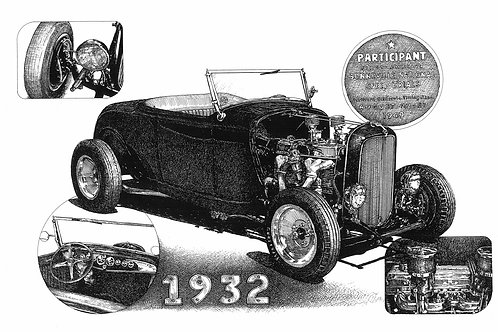 Pat Swanson's 32 Ford