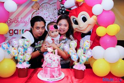 Margarette Jaida's 1st Hello Kitty Birthday