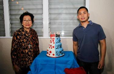 Dennis and Zaira's birthday bash