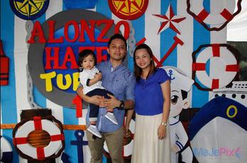 Alonzo Haze turns 1