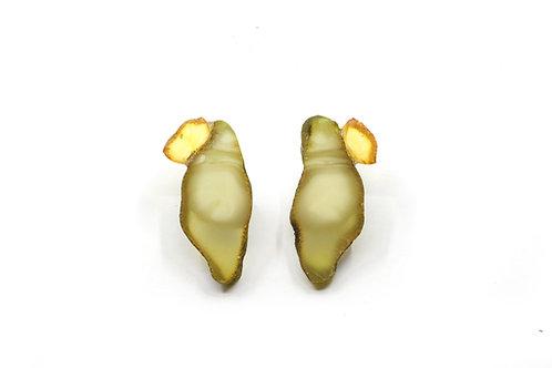 Earrings by Jelizaveta Suska