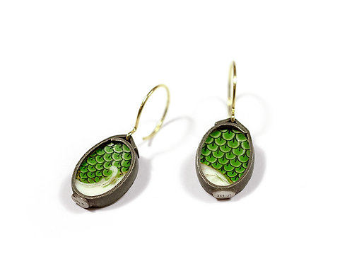 Earrings by Luzia Vogt