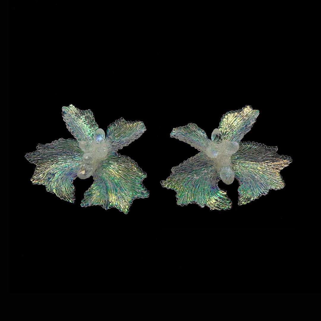 Earrings by Carina Shostary