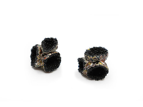 Earrings by Carina Shoshtary