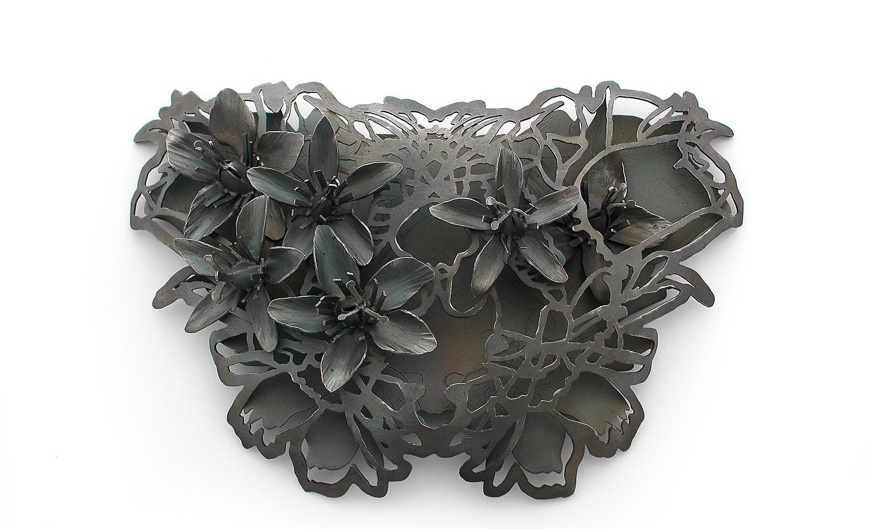 Necklace/brooch by Sondra Sherman
