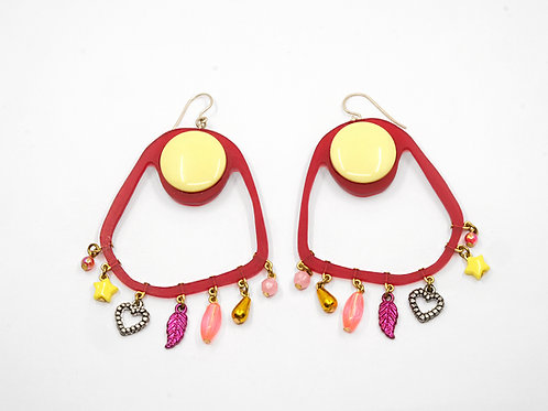 Earrings by Helena Johansson Lindell