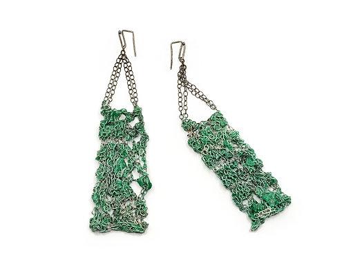 Earrings by Liana Pattihis
