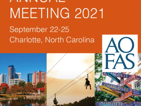 International WBCT Society announces AOFAS symposium