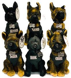 Stuffed K9 Pups