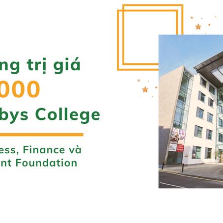 Học bổng 6000 bảng khoá Business, Finance and Management Foundation tại Bellerbys College