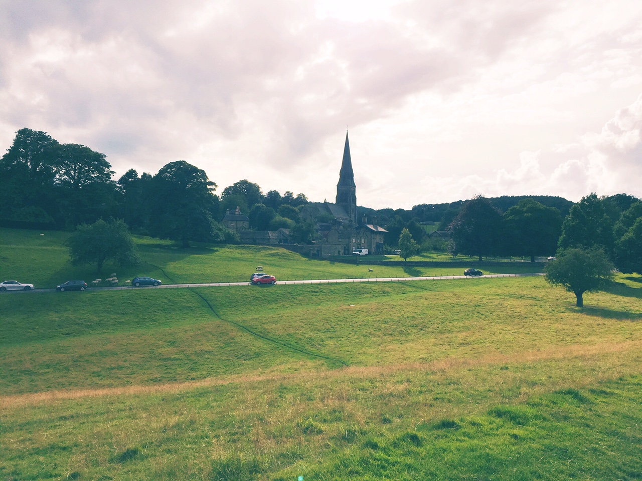Edensor Church, Chatsworth