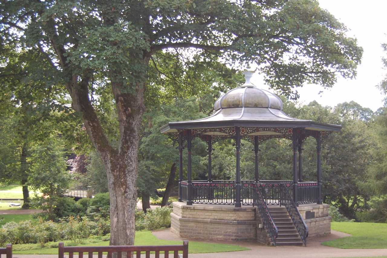Pavilion Gardens Bandstand, Buxton